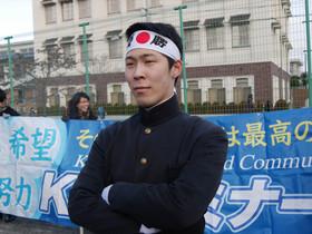 奈良女子大附中入試の応援に行きました。