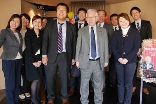 株式会社武蔵野 小山昇社長がご来社されました