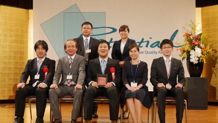 2015年度関西経営品質賞表彰式に出席しました。