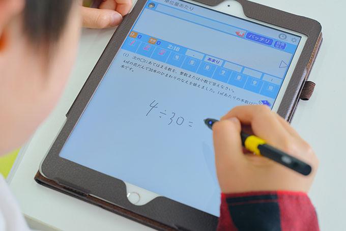 タブレットを使ってビルドUP算数・国語・英語で利用